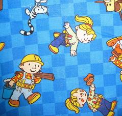bob the builder fabric